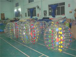 Colors Dots Inflatable Bumper Balls for Sale